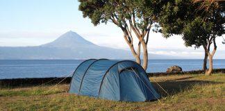 Campen auf den Azoren