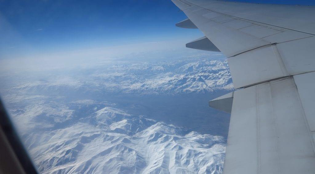 Der Iran aus der Luft