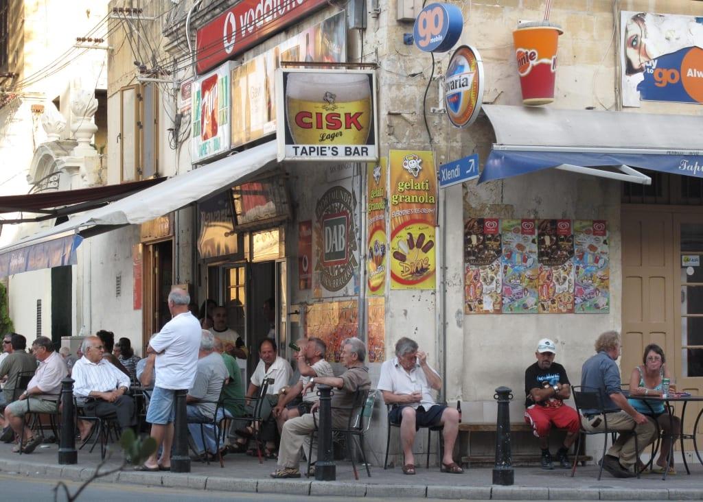 Tapies Bar in Victoria auf Gozo