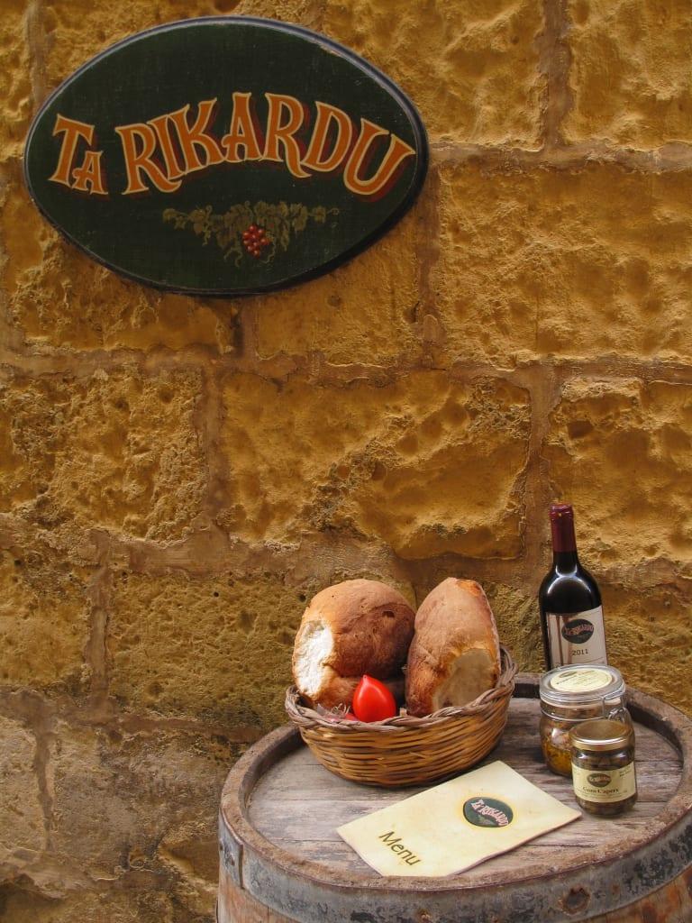 Restaurant Ta'Rikardu auf der Zitadelle von Gozo