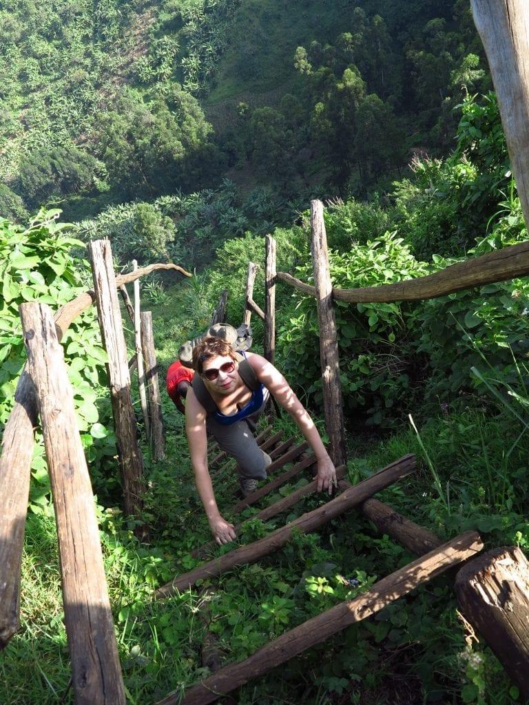 Wanderin in Sip in Uganda