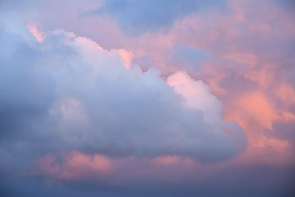 Wolkenformation Mecklenburg Vorpommern