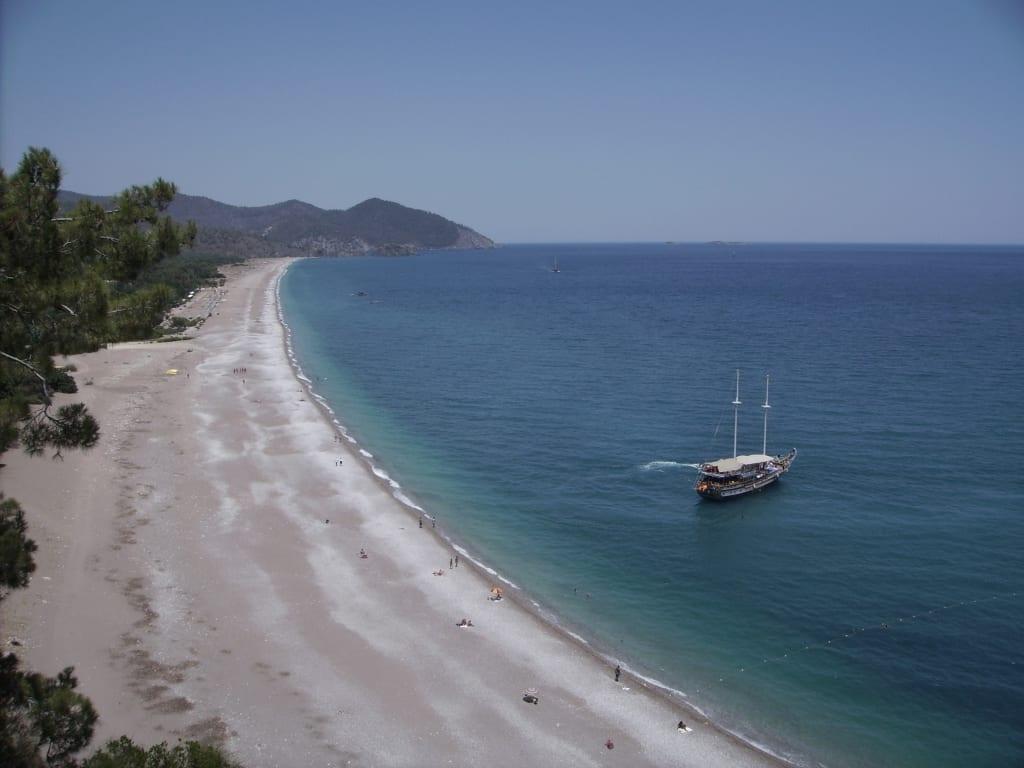 Strand von Cirali an der Lykischen Küste