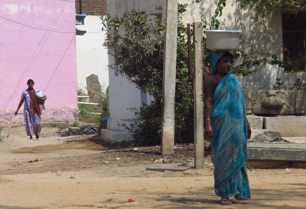 Anegondi bei Hampi in Indien