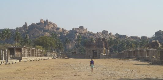 Hampi in Südindindien