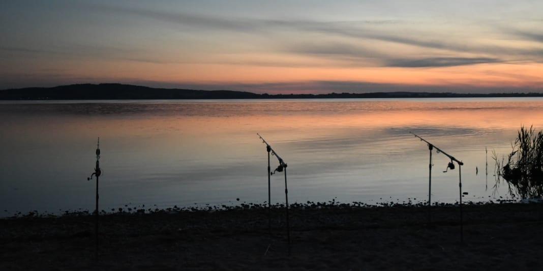 Sonnenuntergang am Kummerower See