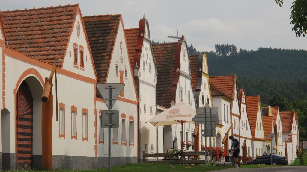 UNESCo-Welterbe Holasovice in Südböhmen