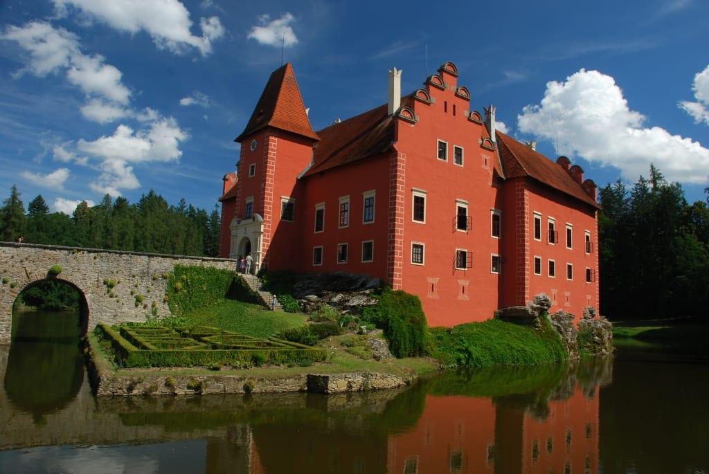 Schloss Cervená Lhota in Südböhmen