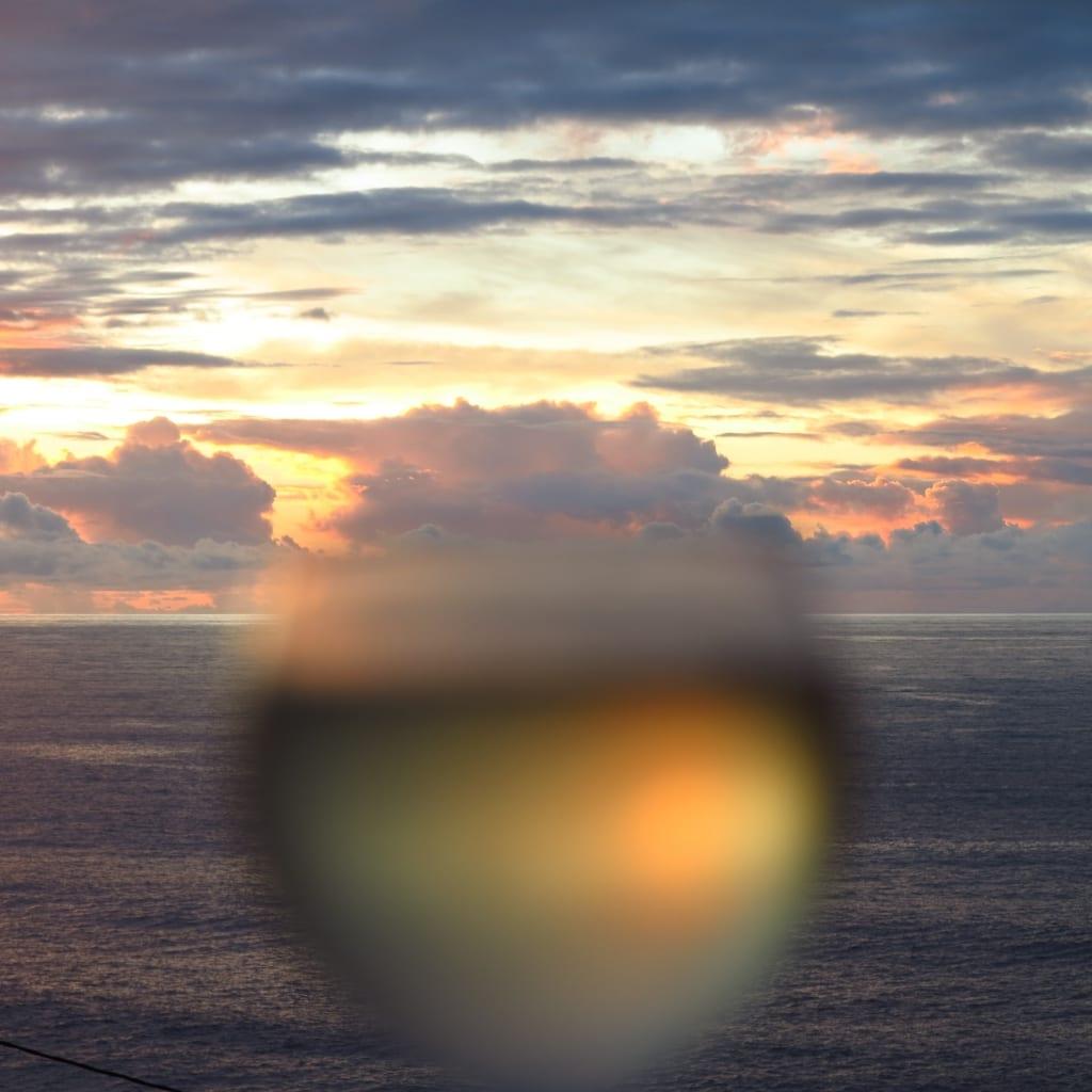 Sonnenntergang in Alojera auf la Gomera