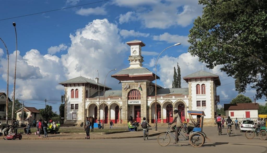 Bahnhof von Antsirabe in Madagaskar