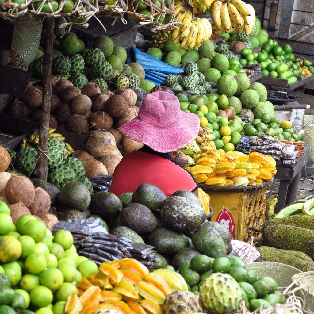 Markt in Antananarivo in Madagaskar