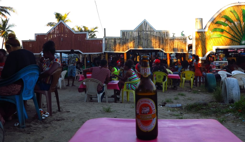 Bar in Tamatave in Madagaskar