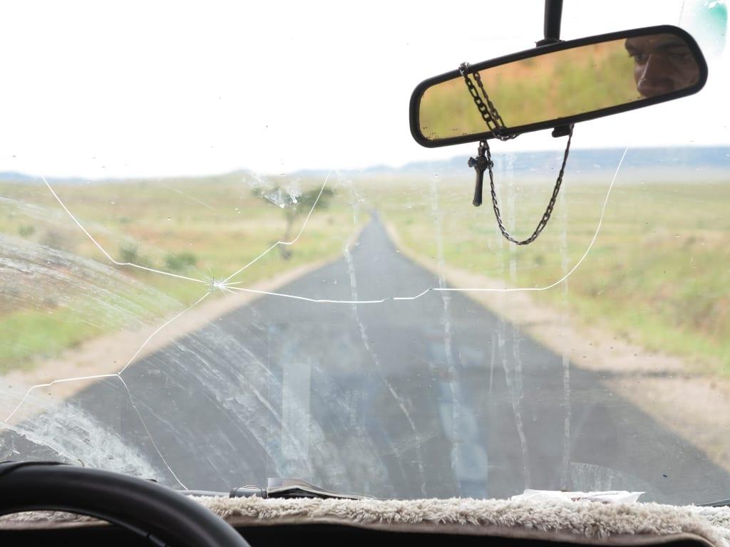 Unterwegs im Taxi Brousse im Süden Madagaskars