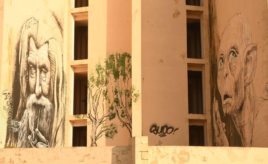 Street Art am Jerma Palace in Malta