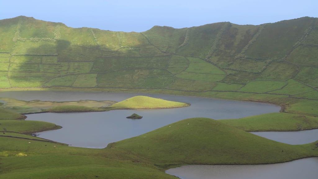 Kraterkessel von Corvo (Azoren)