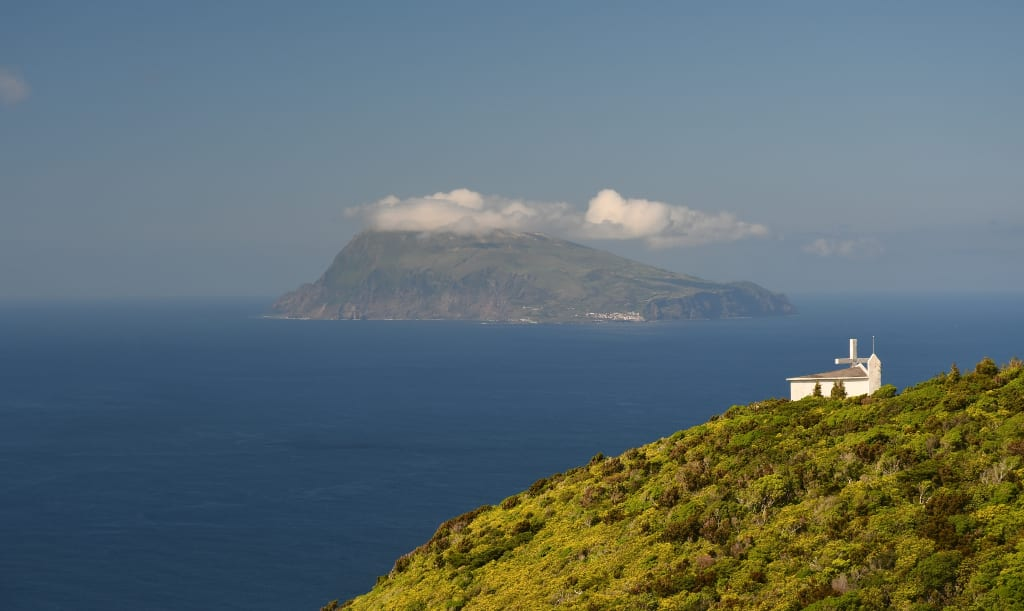 Corvo, die kleinste Azoreninsel