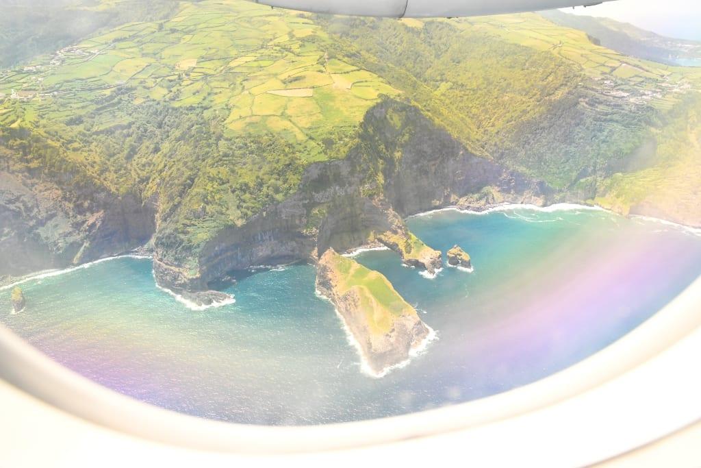 Fliegen auf den Azoren