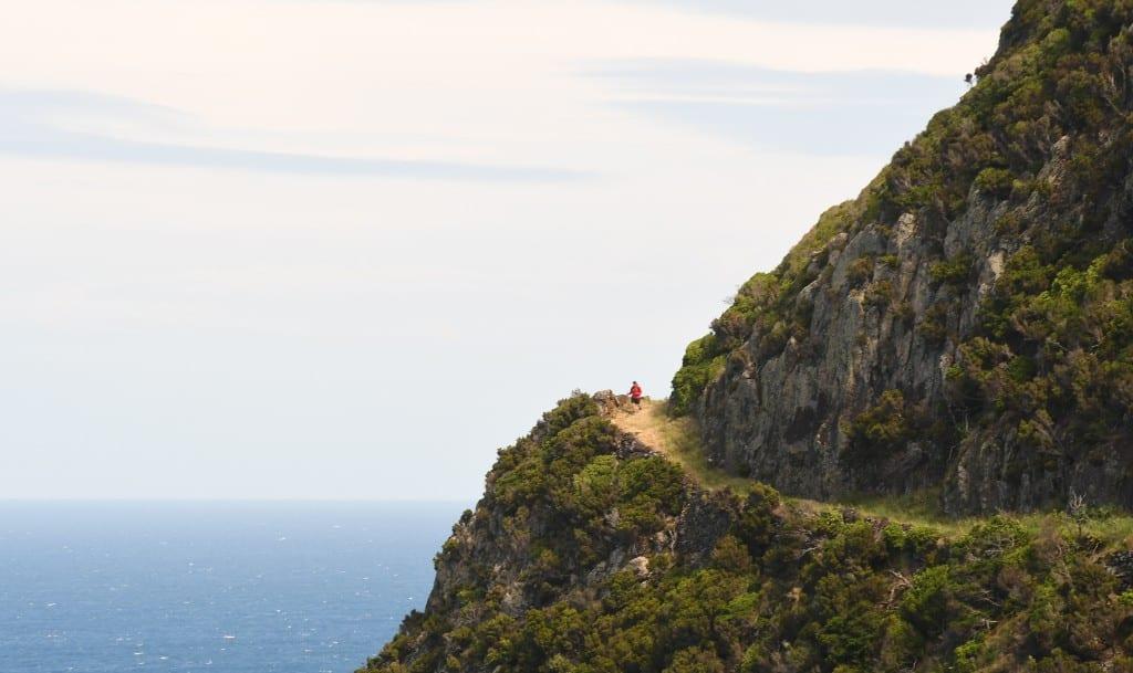 Wanderweg auf Flores (Azoren)