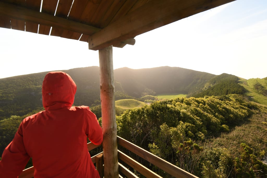 Caldeira von Graciosa auf den Azoren