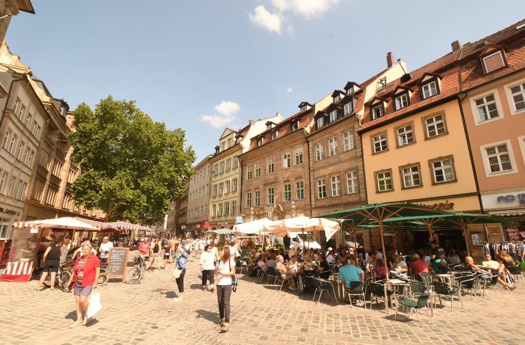 Grüner Markt Bamberg