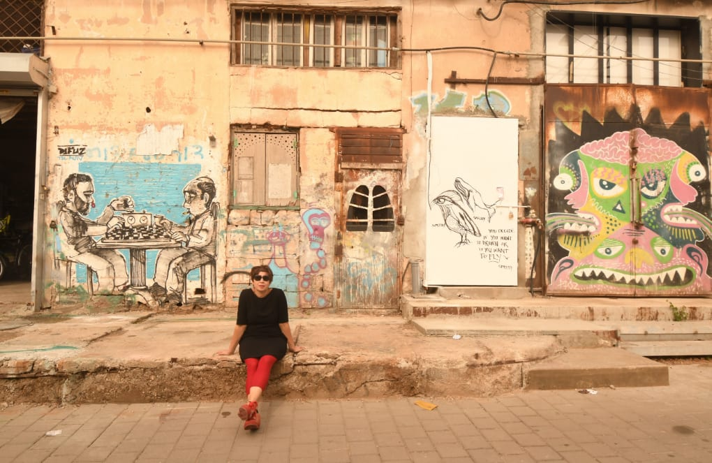 Streetart in Florentin in Tel Aviv
