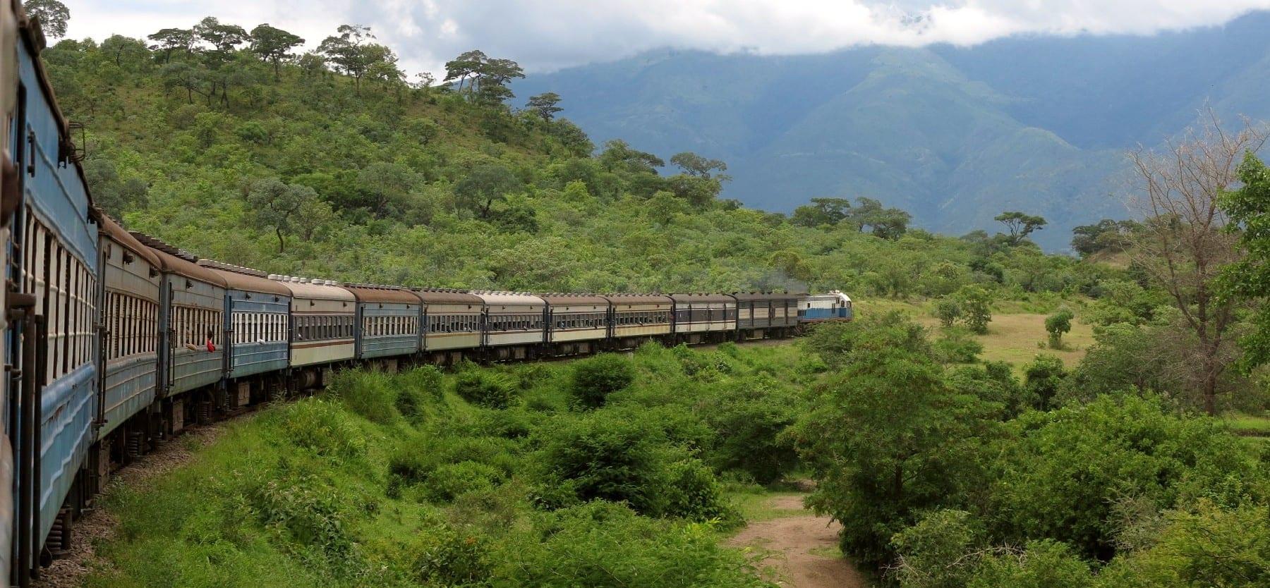 Tazara Train Sambia