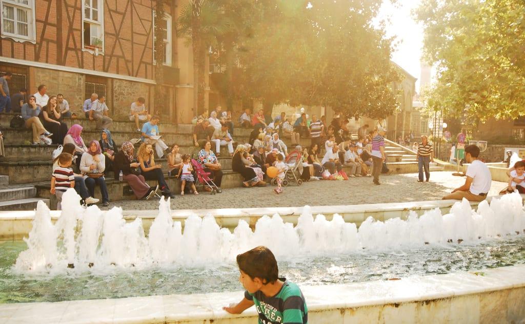 Zentrum von Bursa in der Türkei