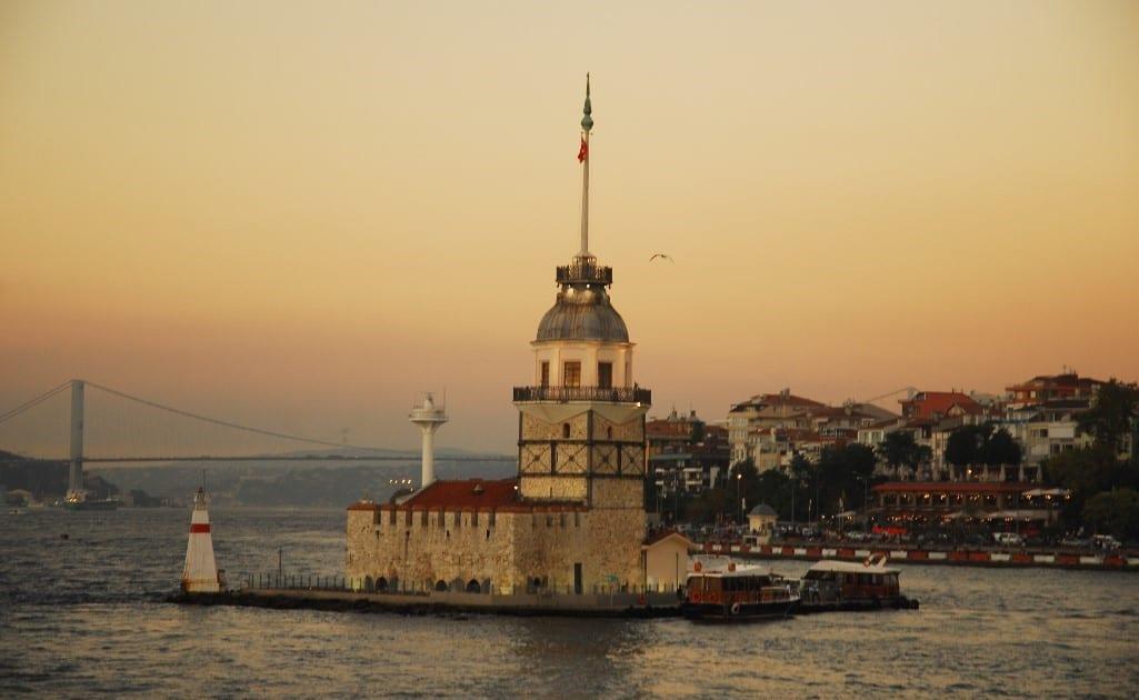 der Mädchenturm im Bosporus